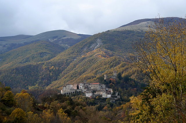 Arquata del Tronto. Via Wikimedia Commons.