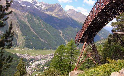 Valle d'Aosta, miniere di Cogne