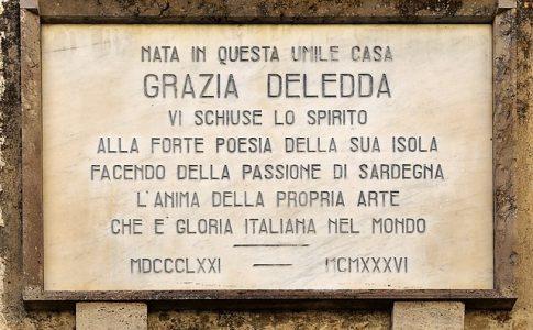 Grazia Deledda, casa natale di Nuoro