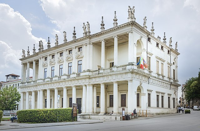 Palazzo Chiercati a Vicenza. Via Wikimedia Commons.
