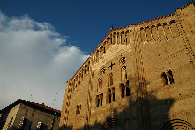 San Michele nella PAvia longobarda. Via WIkimedia Commons