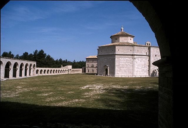 Santuario di MAcereto. Via Wikimedia Commons.