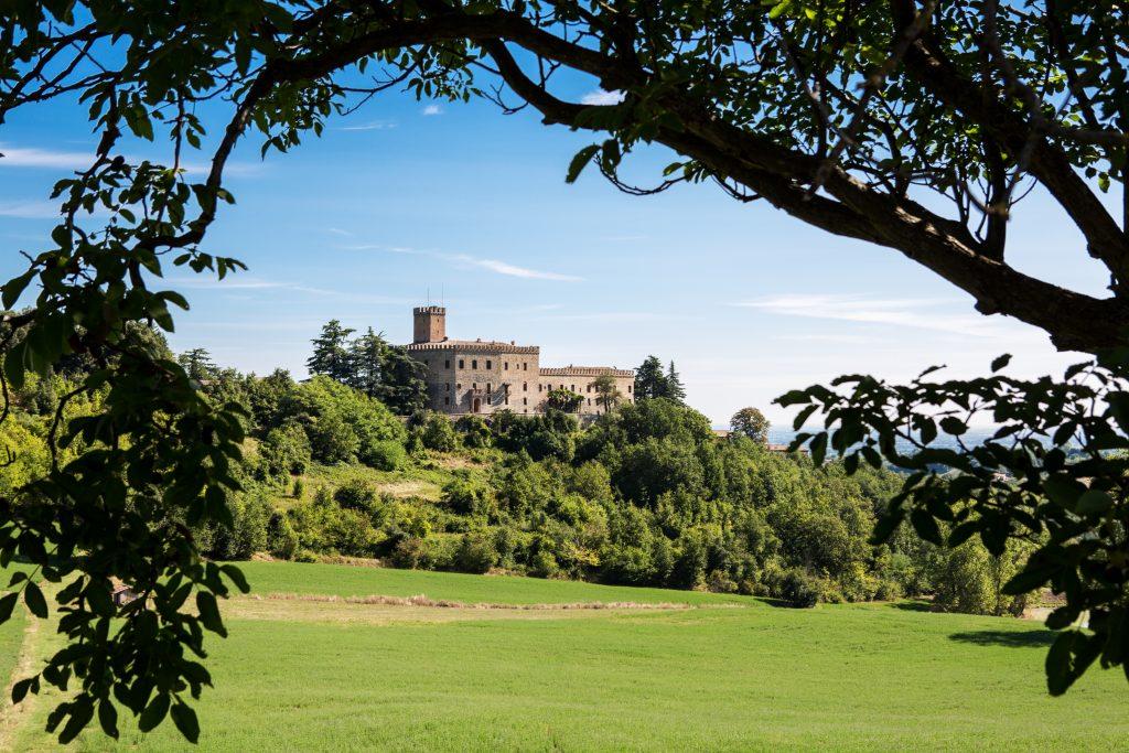 Castello di Tabiano, credit Visit Salsomaggiore. Via Ella Studio.