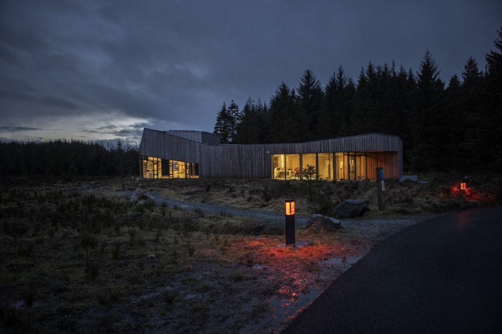 Dark Sky Park Observatory. Foto: Donal Moloney. Via Tourism Ireland.