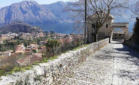 Sacro monte ossuccio lago di como via wikimedia commons
