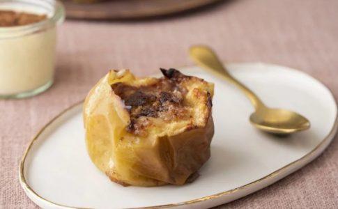 Mele al forno con marzapane via suedtirol