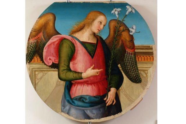 Perugino Arcangelo Gabriele, Galleria Nazionale Umbria di Perugia, via Comune di Urbino