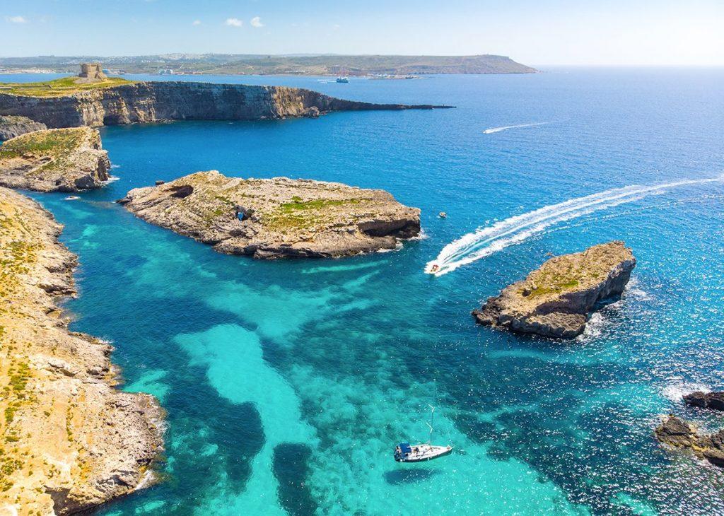 Comino. Via Visit Malta.