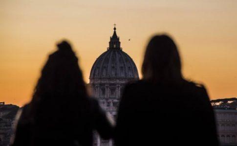 Roma, coppia, amore