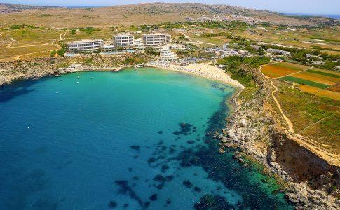 golden bay malta via visit malta