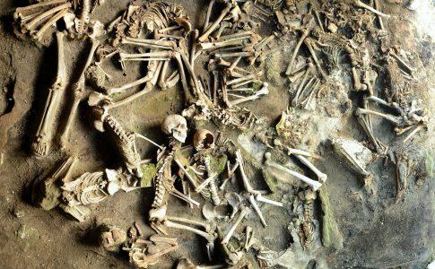 Ercolano scheletri