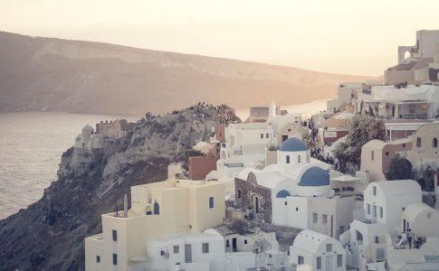 santorini top 6 destinazioni autunnali via pixabay