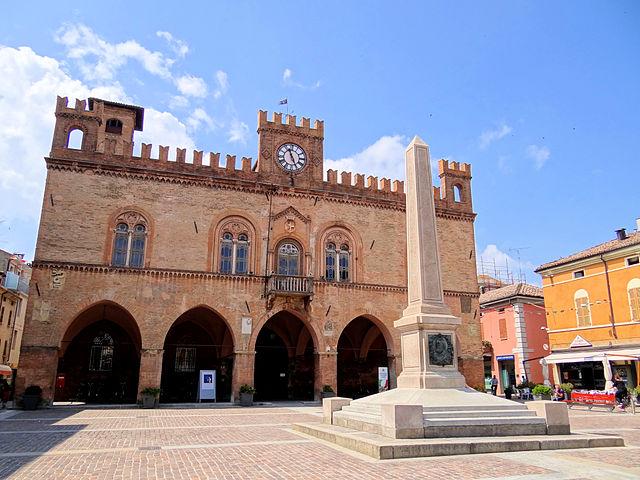 Il centro di Fidenza. Via Wikimedia Commons.