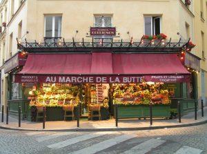 Parigi, Epicerie