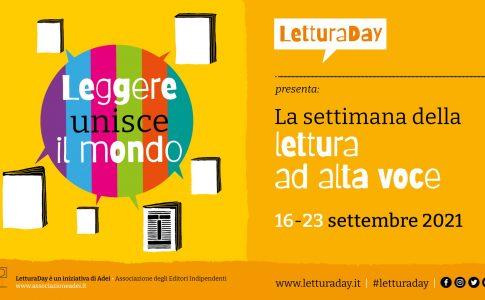 Lettura Day Fonte: Ufficio stampa Lettura Day