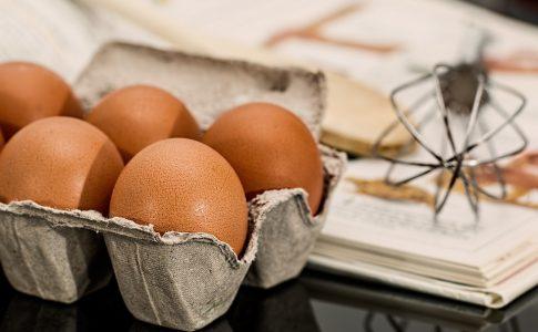 Uova, ingredienti, ricetta