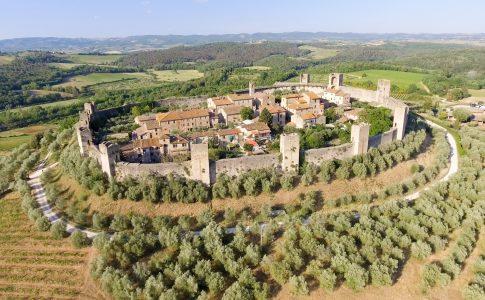 Trekking Siena Fonte: Visit Tuscany