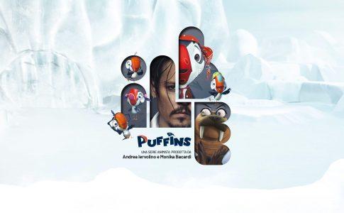 Johnny Depp Puffins