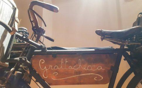 Gubbio Museo dei mestieri in bicicletta