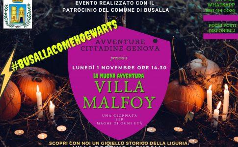 Villa Borzino Halloween